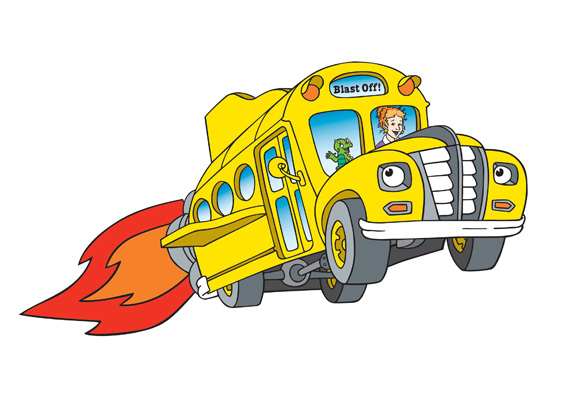 THE MAGIC SCHOOL BUS -- Pictured: The Magic School Bus -- qubo Photo